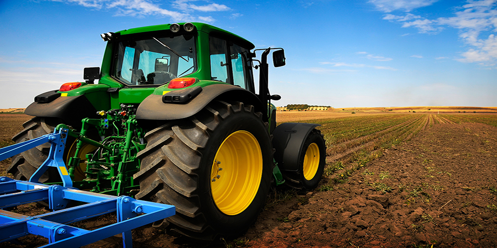 Tasar maquinaria agrícola