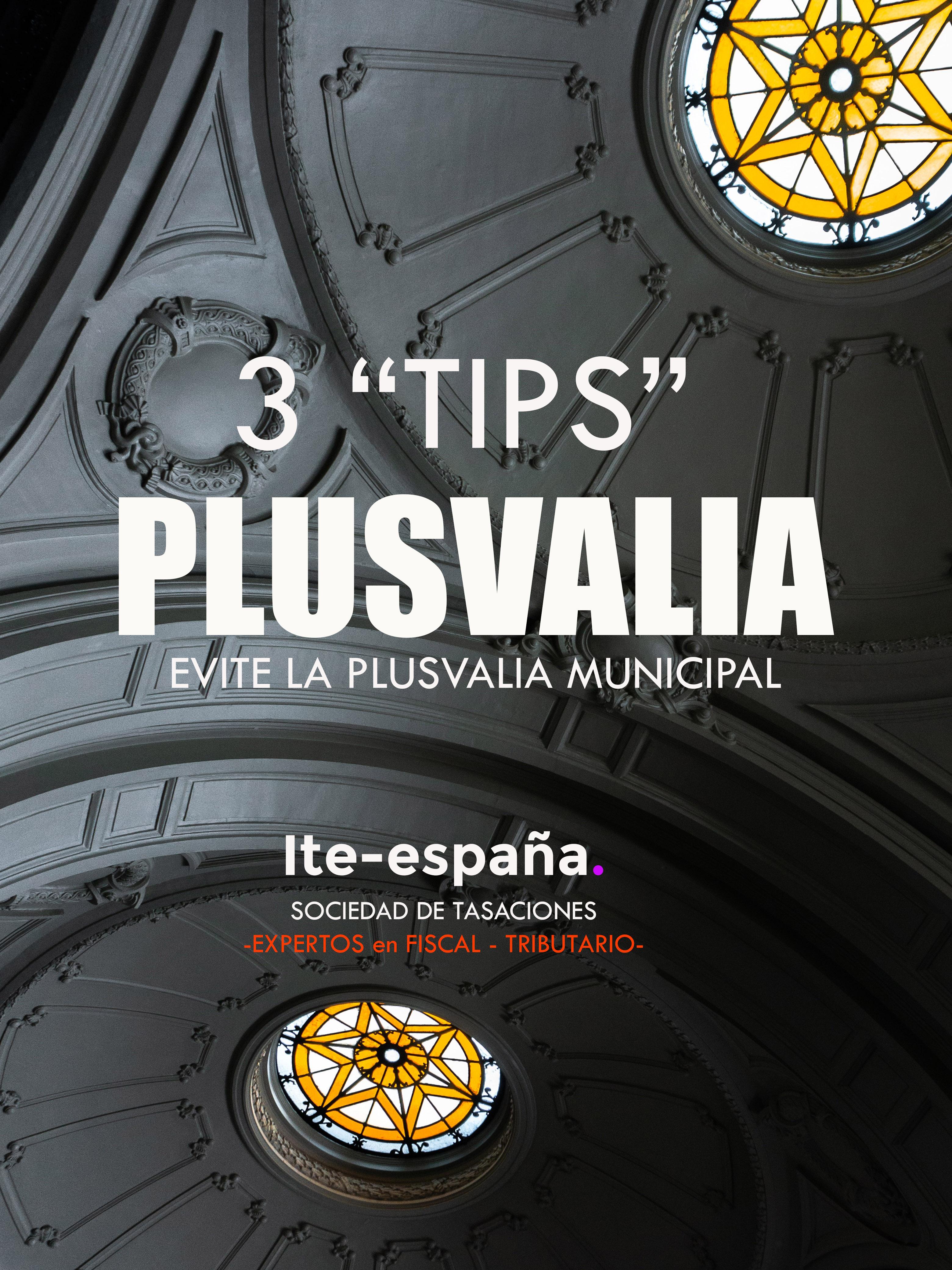 evitar la plusvalía municipal en Valencia