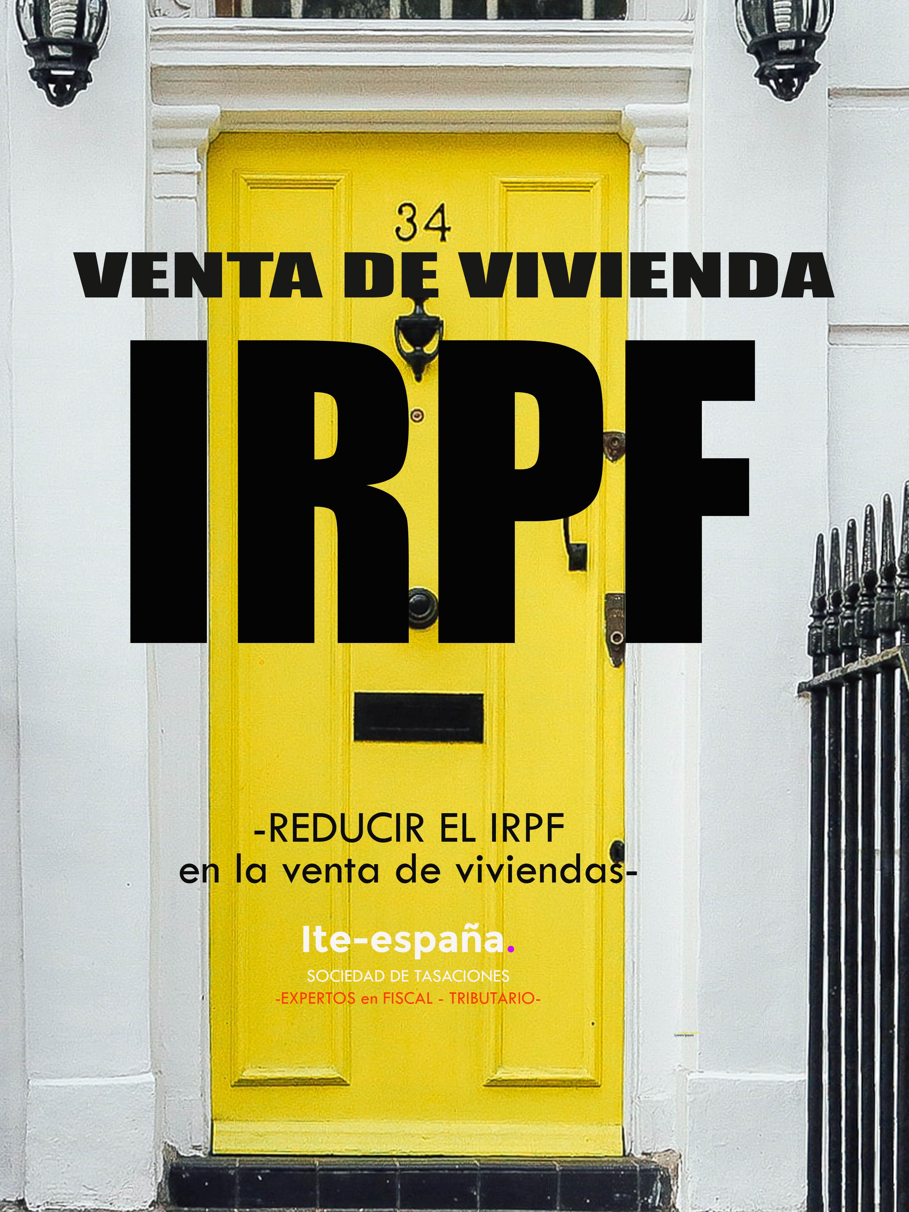 IRPF venta vivienda