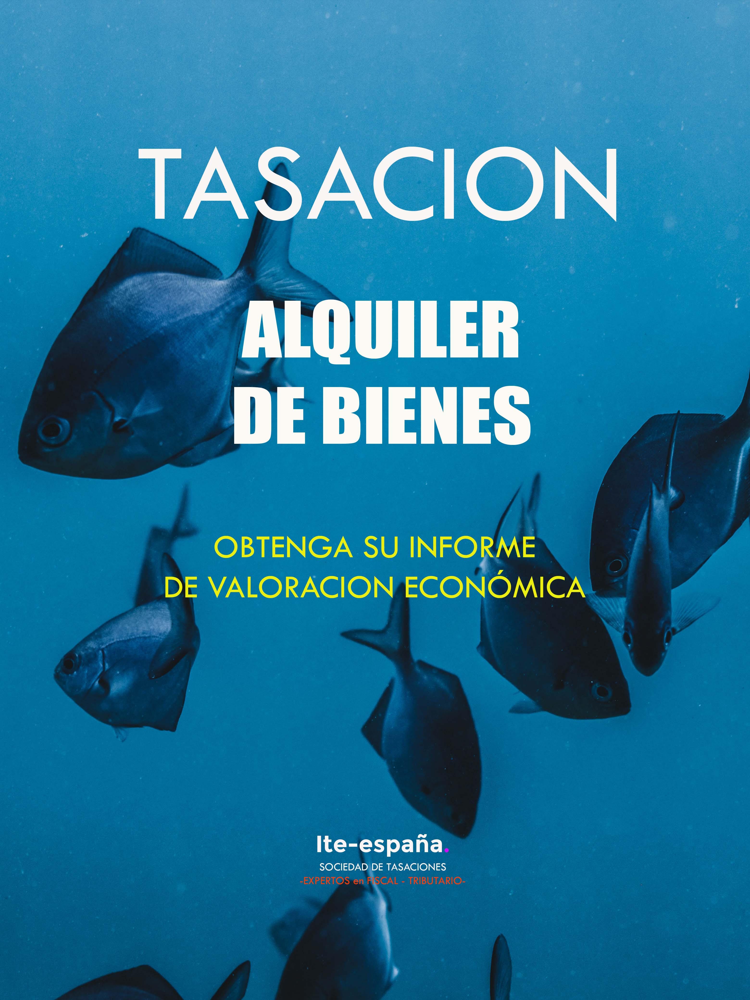 TASACION ALQUILER RENTAS